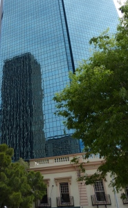 Reflections, Old and New, Buildings