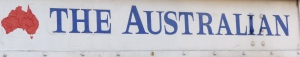 The local newspaper, The Australian