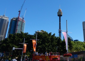 Sydney Tower Eye, Westfield mall, Sydney, Australia