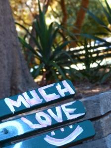 Graffiti, Park Bench, Bondi, Sydney, Australia