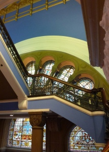 Stairs, Color, Stained Glass