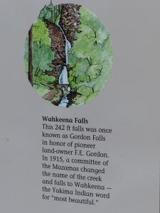 Wakheena Falls Info