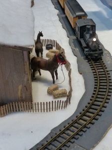 Horses and Trains