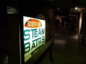 Steambaths lower level