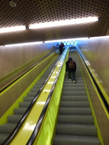 Stairs in Seattle Central Library