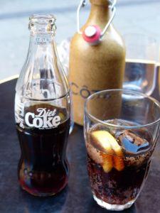 Cote, parisian bistro in London, London, Coke