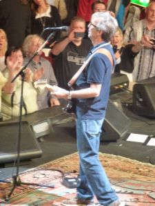 Eric Clapton, Eric Clapton at the Royal Albert Hall, London, England