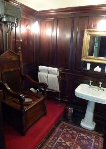 throne, The Gore, pull chain toilet,
