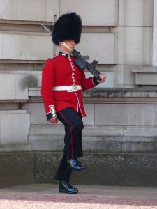 London, England, guards