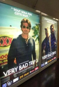 A Very Bad Trip 3, Paris metro