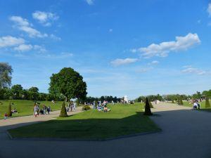 Kensington Gardens, Kensington, London, England, gardens, sunny day