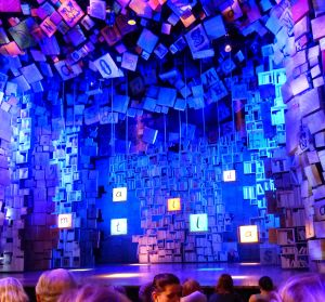 Matilda, London, theater, theater district, West End