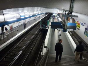 Paris, France, Parisian metro, metro