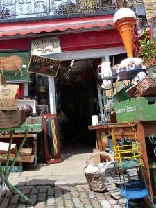 Antique market, Portobello Road, London, England