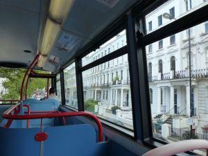 double-decker bus, London, England