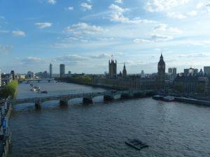 Big Ben from London Eye