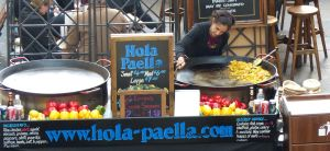 paella, Covent Gardens, London