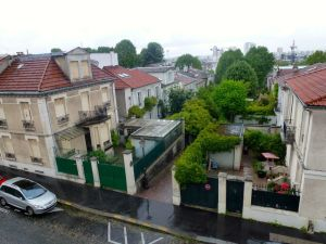 street, Paris, France, 19th Arrrondissement