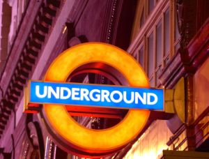 Underground, tube, London, Leicester Square metro