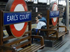 Earl's Court, London, underground, London tube, tube, metro