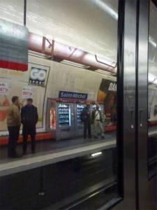 Paris, France, metro, vending machine