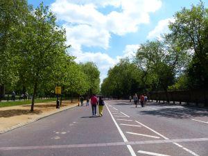 The Mall, walkway, London, ENgland