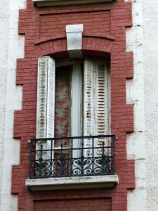 window, Paris, France