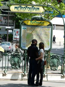 metro, 19th arrondissement, Botzaris, Paris underground, subway, Paris, France