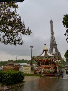 Carrousel, Paris, France, Eiffel Tower