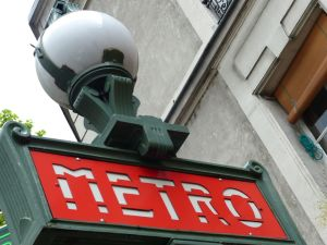 20th arrondissement, metro, Paris subway, subway, Paris, France