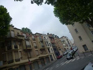 Paris, France, neighborhood, 19th arrondissement, street scene,