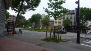 Paris, France, neighborhood, 19th arrondissement, street scene