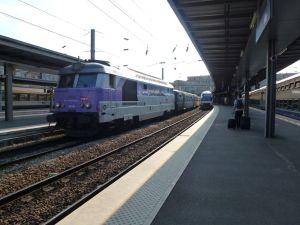 Amiens, SNCF, train station, France