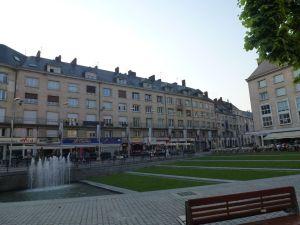 Amiens city center, France