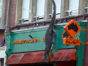 Australian Bar, Amiens, France, Aussie bar in France