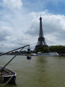 6th arrondissement, River Seine, houseboat, péniche, Paris, France, Port Debilly