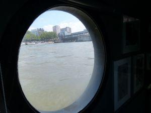 6th arrondissement, River Seine, houseboat, péniche, Paris, France, Port Debilly