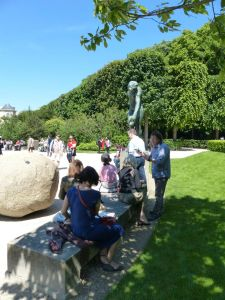 Musée Rodin, Paris, France, Rodin, sculpture, 7th arrondissement, museum, art class