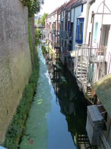 canals, Amiens, France