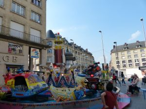 Amiens, France, carousel