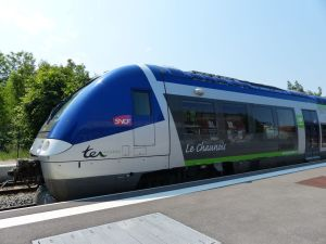 train, Villers Bretonneaux, France