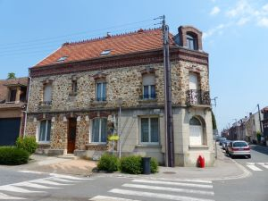Villers Bretonneux, France. stone house,