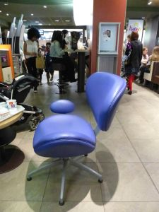 Amiens, France, chair, McDonald's