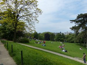 Parc des Buttes Chaumont, 19th arrondissement, Paris, France, park