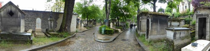 panoramic, cemetery, Paris, France