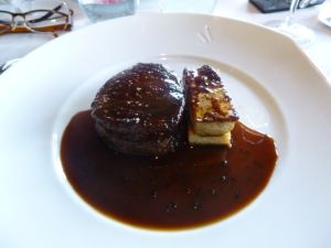 Le Jules Verne, Eiffel Tower, 6th arrondissement, Parisian restaurant, table with a view, steak, Paris, France