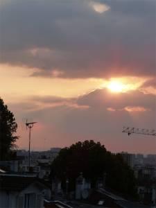 19th arrondissement, 12 Rue de la Liberté, sunset, window