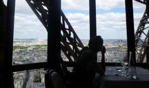 Paris, France, Le Jules Verne, Eiffel Tower, table with a view, food, Parisian restaurant,