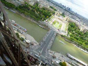 Le Jules Verne, Eiffel Tower, 6th arrondissement, Parisian restaurant, table with a view, Paris, France