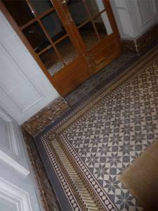 Paris, France, floor, tiles